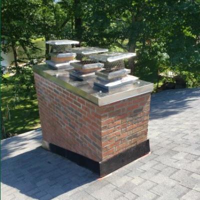 Complete chimney rebuild